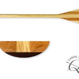 Boutique Canoe Company, pagaie bois, canoe canadien