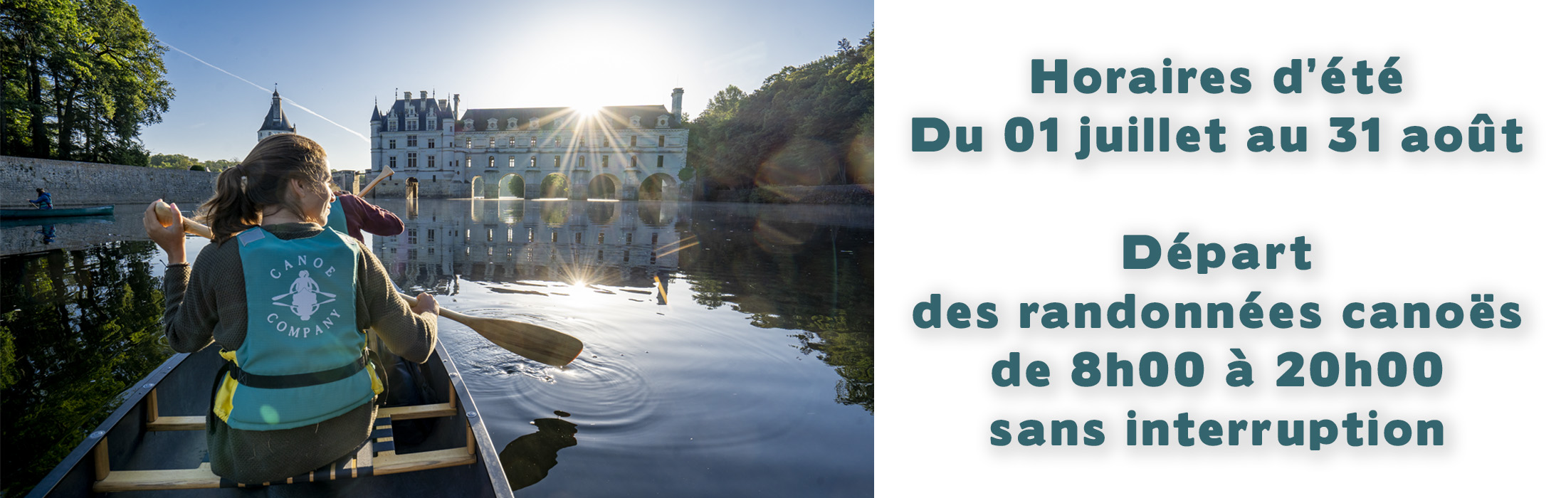 Canoe Company, canoe canadien chenonceaux, chenonceau